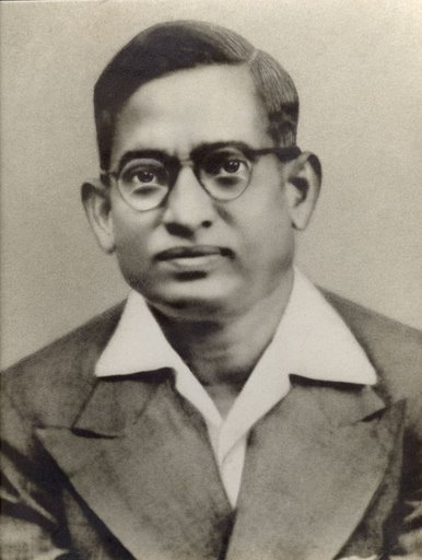 My paternal grandfather. The family astrologer who had prepared my horoscope predicted an inauspicious event and the prediction came true five months after my birth. But the prediction did not deter my grandfather in any manner. My grandmother whose name I had acquired  told me that my grandfather had loved me with all his heart without any concern about the astrological prediction.