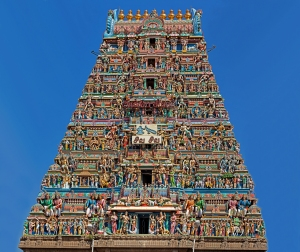 """This landmark Temple of Kapaleeswara binds me to my birthplace of Mylapore, Madras(Chennai). The Presiding Diety of this Temple is chosen as my personal Protector and hence I am given the name of """"RUDRA""""."""