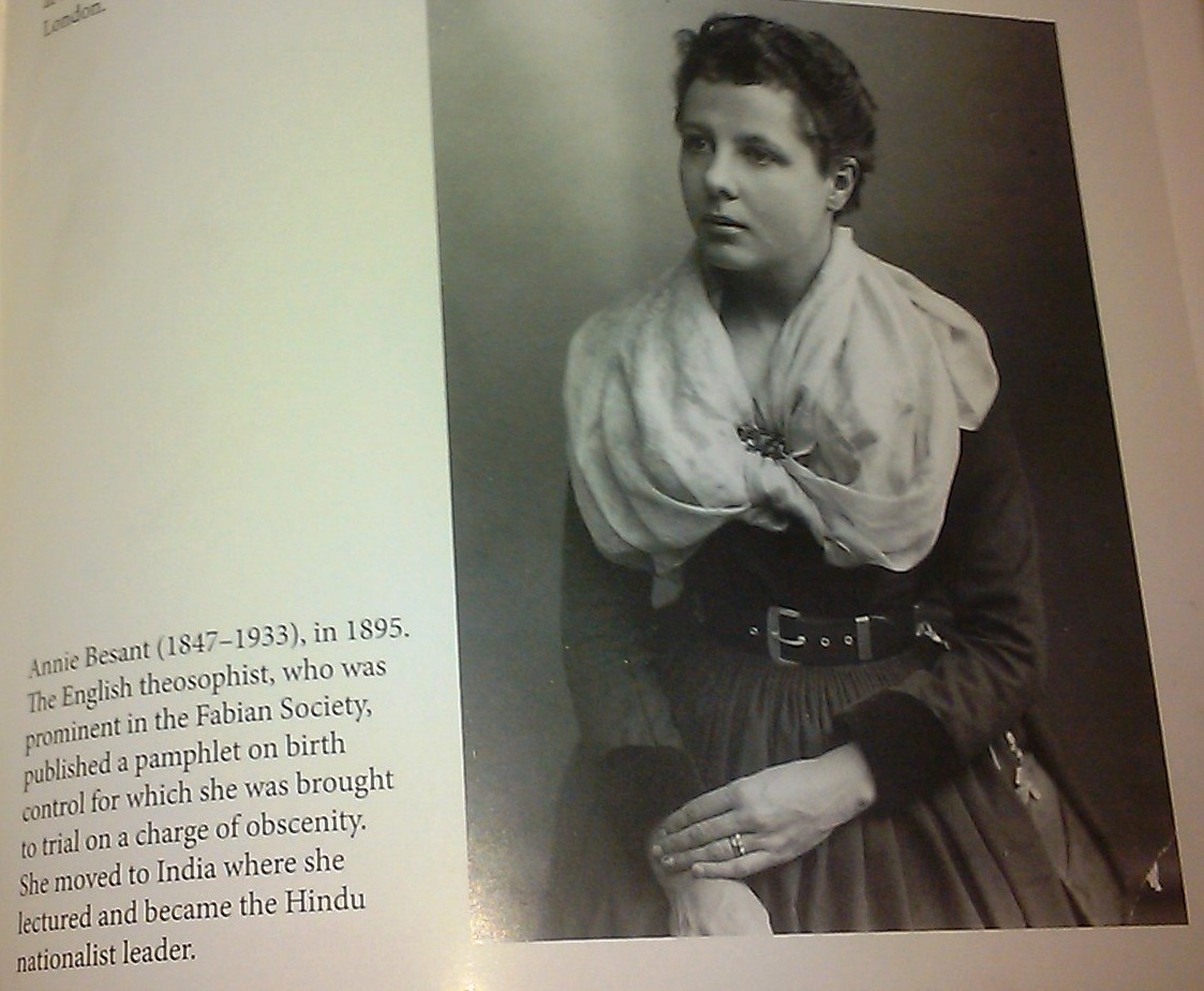 ANNIE BESANT - ANGEL OF INDIA.