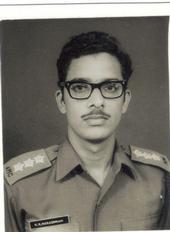 Indian Army ID Photo taken in 1972, NEFA, Arunachal Pradesh.