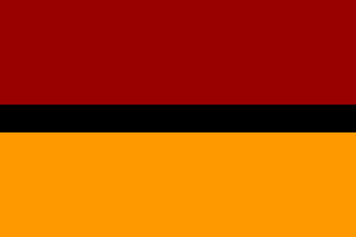 The Flag of Indian Army Medical Corps. AMC must put this memorable Battlefield Medical Evacuation March in 1971 in its History Books to inspire other AMC Medical Officers to train and acquire the professional skills of Medical Assistant and Ambulance Assistant to give better service to the battle wounded in any future War.