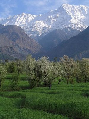 'TUSHAAR', Snow clad peaks of Himalayas, the abode of Snow/Ice.