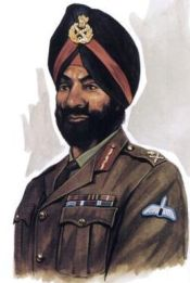 Major General Sujan Singh Uban, the Commander of Special Frontier Force.