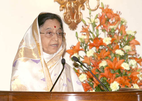 Shrimati. Pratibha Devisingh Patil, the President of India