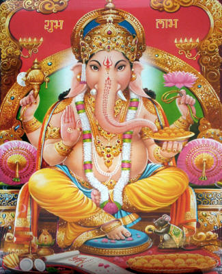 Lord Ganesha - The Mentor of Learning, the Remover of Obstacles.