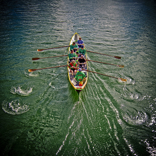 Row, row, row your boat, Gently down the Stream; Merrily, merrily, merrily, merrily, Life is but a Dream.