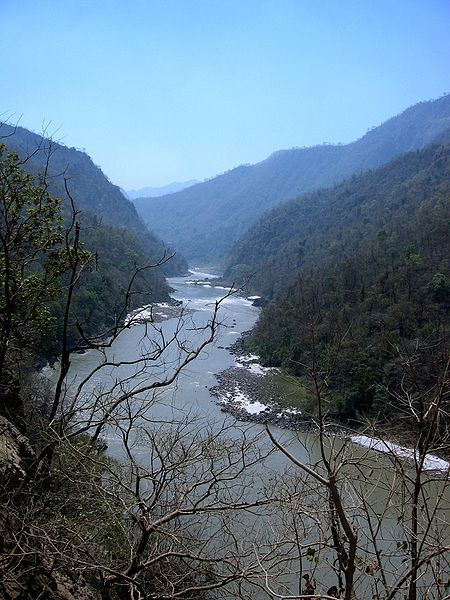 River Ganga meandering through the Shivalik ranges near Rishikesh symbolizes my WAVE THEORY OF IMMORTALITY. Man always exists in constant relationship with his physical environment. Immortality is not about perpetual residence in a Heavenly Mansion. Immortality is associated with the idea of Ultimate Reality which is represented by SAT+CHIT+ANANDA. In this physical world, the Indian Identity is immortalized by the flowing River adoringly described as Mother Ganges.