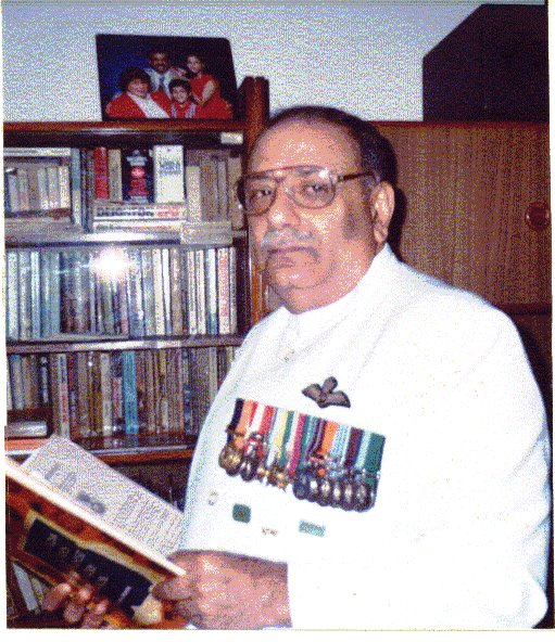 This retired Indian Air Force Officer Parvez Jamaszi rendered service as a helicopter pilot in support of our battle action that is code-named Operation Eagle. He was awarded the Gallantry Award of Vir Chakra for his gallant actions. He had airlifted my battlefield casualties.