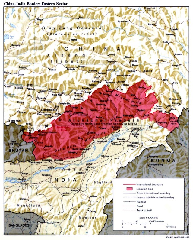 Special Frontier Force demands the United States to recognize the McMahon Line in Kashmir. REMEMBERING THE 1962 INDIA-CHINA WAR : The McMahon Line in India's North East Frontier Agency or the State of Arunachal Pradesh. The Top Secret of 1962 War is the number of Chinese soldiers that were killed and injured during their military attack. Communist China must take courage and admit the true numbers. This War was not a total loss. India learned its lesson. We had a spectacular Military Victory during 1971 during our Bangladesh Liberation War.