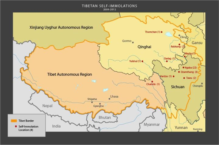 "People's Republic of China's province called Tibetan Autonomous Region or ""TAR"" was established in 1965 after Communist China had annexed Tibetan territory and illegally added it to adjoining Chinese provinces. Hence, there is a valid dispute about China-Tibet boundaries."