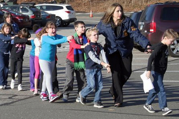 Spiritualism: Grief and Compassion at Sandy Hook Elementary School, Newtown, Connecticut, Friday, December 14, 2012.