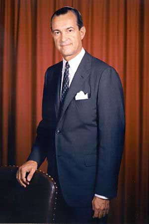 Richard McGarrah Helms(March 30, 1913 - October 22, 2002) was the chief architect of the legislation that created the Central Intelligence Agency during 1947. He had served in CIA in various positions and was its Director from June 1966 to February 1973. The 1962 India-China War was the consequence of a failed CIA mission inside Tibet.