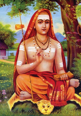 Adi Shankaracharya was the founder of my Hindu, Brahman, Smartha tradition. This tradition establishes a belief in Human Spirit/Soul or 'ATMAN' that is essentially FREE because of its Unity with the Divine Spirit. During Life, human Spirit is dependent upon external support. Freedom is the nature of the Spirit, but in the physical world, the Spirit may face confinement in a Prison.
