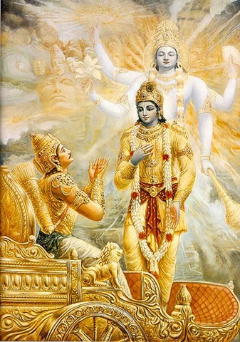 "SPIRITUALISM - THE NEW ADVAITA THEORY OF NON-DUALISM: THE LORD'S SONG - THE BHAGAVAD GITA, CHAPTER X - VIBHUTI -VISTARA YOGA - THE INFINITE GLORIES OF THE ULTIMATE TRUTH, VERSE# 22, LORD KRISHNA STATES, ""BHUTANAM ASMI CHETANA"" - "" AND IN LIVING BEINGS, I AM CONSCIOUSNESS."" IF THE LORD IS THE SOURCE OF THE FUNCTION, THE FUNCTION IS A SPIRITUAL FUNCTION."