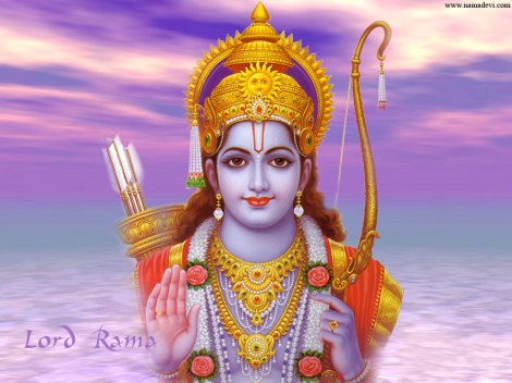 Lord Rama represents the power of imagination and creativity that is expressed by my human Spirit. The Spirit seeks Freedom, and the Compassionate Lord knows the Truth, the reality of man's dependence.
