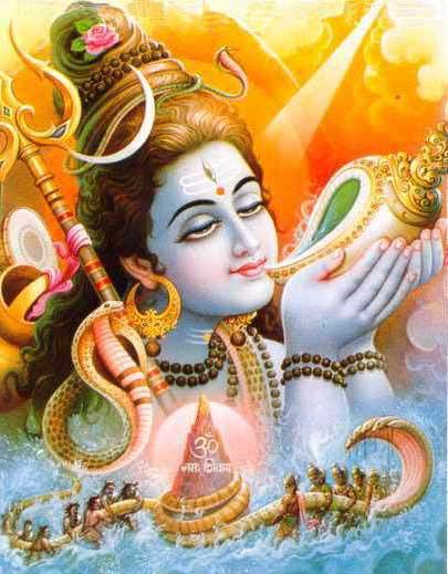 Lord Shiva, Rudra, or Neela Kantha is my Protector or Defender in good health, ill-health, in freedom, or in Prison.
