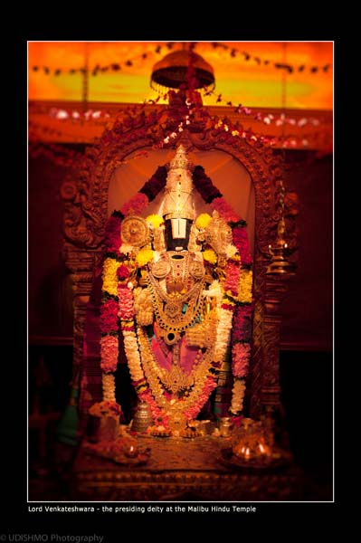 The Lord God or the Principal Presiding deity at Malibu Hindu Temple is known as Lord Venkateswara who represents the physical manifestation of the Supreme Being, Lord Vishnu in the material realm. Since the LORD is present in this terrestrial realm, He knows the Brahman Spirit that is in Prison.