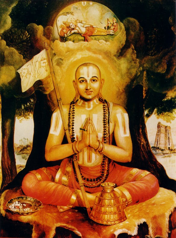 SPIRITUALISM-VISISTADVAITA-MODIFIED NON-DUALISM THEORY OF RAMANUJACHARYA ( c. 1017 - c. 1137 ). WHAT IS THE RELATIONSHIP BETWEEN GOD, MATTER, AND INDIVIDUAL SOUL?