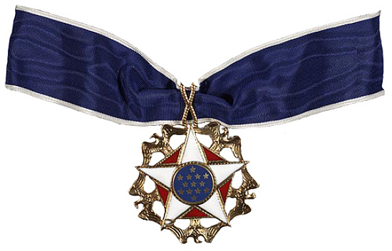This Freedom Medal that was awarded to the US Secretary of State John Foster Dulles during May 1959 truly represents the aspirations of Tibetan people to find Freedom and Democracy in their occupied Land of Tibet. This Medal gives them the hope and encouragement to resist the military occupation by People's Republic of China.