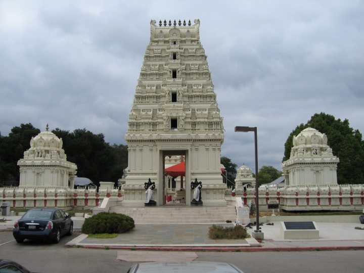"The Hindu Temple, Malibu, Southern California. Is this the Temple in which I am destined to worship the LORD GOD??? The New Testament Book, The Epistle of Apostle Paul to Ephesians, Chapter 2, verse# 21 reads: ""In Him the Whole building is joined together and rises to become a Holy Temple in the LORD."" Why does the Hindu-Brahmin community treat me as a Foreigner and Alien and provided the contingency to take away my Freedom???"