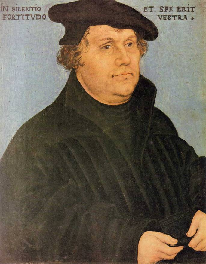 Martin Luther(November 10, 1483 to February 18, 1546), German theologian, leader of the Protestant Reformation held the view that everything is determined by God from the beginning.