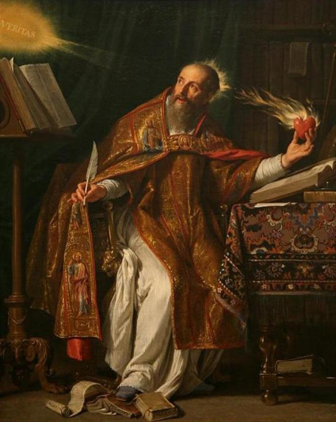 Saint Augustine(354-430), Doctor of the Church, founder of Christian theology followed the doctrine of predestination or divine grace that states God's superintendence of the Whole Cosmos and everything in it.