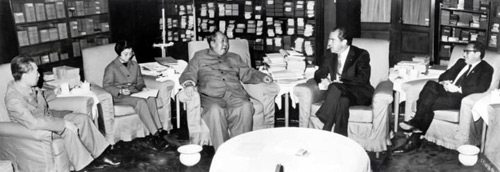Special Frontier Force-The Battle of Right Against Might. Dr. Henry Kissinger, backstabbed Special Frontier Force by arranging this meeting between the US President Richard M. Nixon and Chairman Mao Zedong and Prime Minister Zhou-Enlai during 1972.