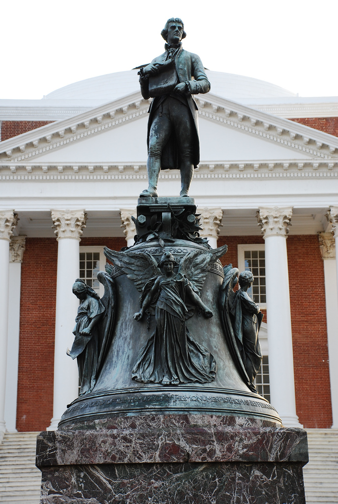 Whole Dude - Whole Declaration: Jefferson believed in Freedom maintained through Education.