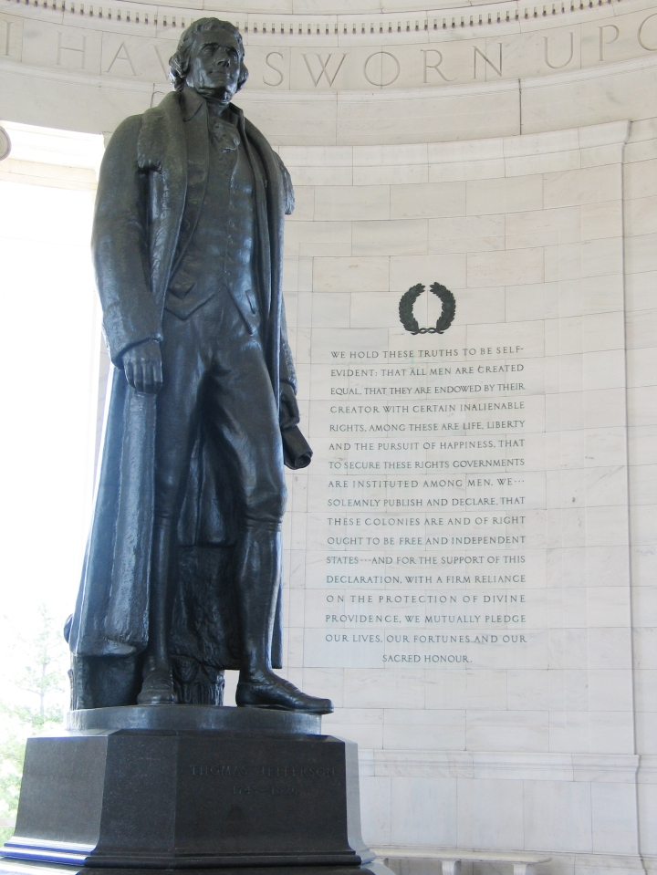 Whole Dude - Whole Declaration: Thomas Jefferson's Declaration of Independence seeking natural inalienable rights was made seeking support with a firm reliance on the protection of Divine Providence. The operation of Divine Providence is the central requirement if man has the natural, inalienable rights to Life, Liberty, and the pursuit of Happiness.
