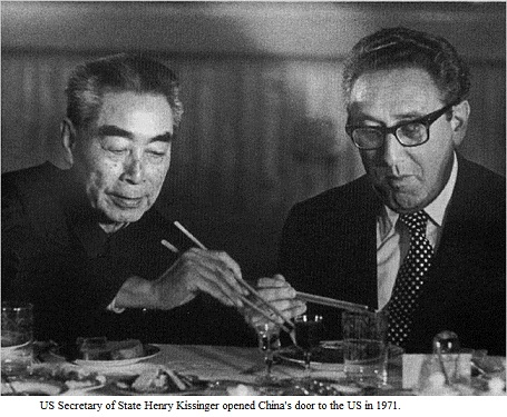 WHOLE DUDE - WHOLE SIN : Communist China's Premier Zhou En-Lai and the US National Security Adviser Dr. Henry Alfred Kissinger are the faces that represent the Original Sin, they are guilty of the offense called transgression of Law.