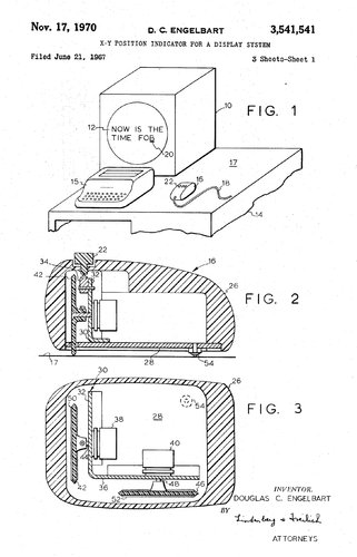 WholeDude - Whole Inventor: The patent for the first computer mouse.