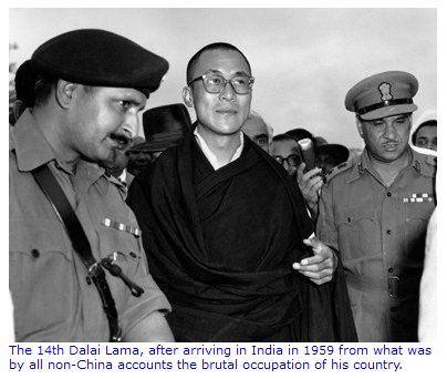 The history of Special Frontier Force-Establishment No. 22: The arrival of His Holiness the 14th Dalai Lama in India to seek political asylum represents the failure of CIA's covert operation inside Tibet. CIA had grossly underestimated the intelligence capabilities of Communist China.