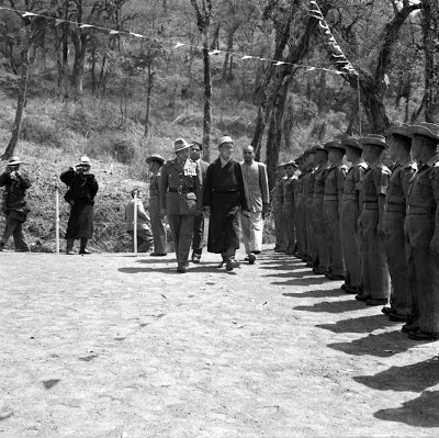 The history of Special Frontier Force-Establishment No. 22: The Journey of a political refugee. His Holiness the 14th Dalai Lama had arrived in India during March 1959 and was presented a Guard of Honor by the Assam Rifles.