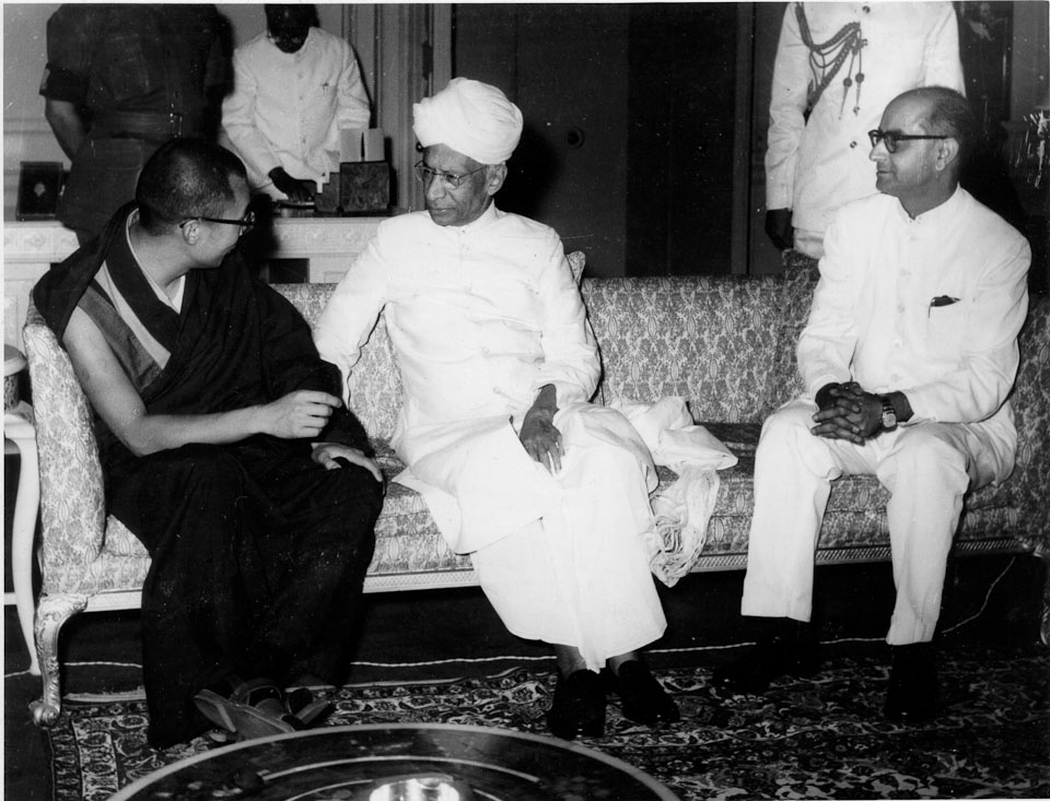 The history of Special Frontier Force-Establishment No. 22: The military tyranny imposed by Communist China's occupation had forced Tibet to break-free from its traditional policy of political isolationism and it is not a big surprise to find India as its natural ally. President Radhakrishnan is seen with His Holiness the 14th Dalai Lama.
