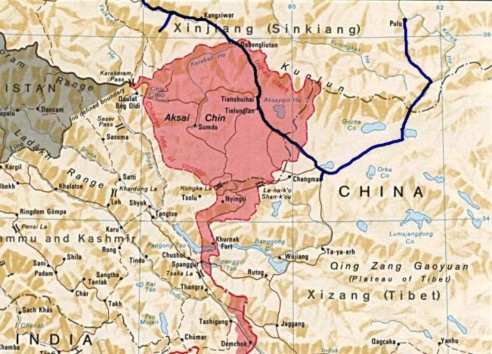 SPECIAL FRONTIER FORCE - HIMALAYAN BLUNDER: Just six months ago, People's Republic of China intruded into Depsang Sector of Ladakh Province. China had already occupied the area known as Aksai Chin and the dispute is not yet settled.