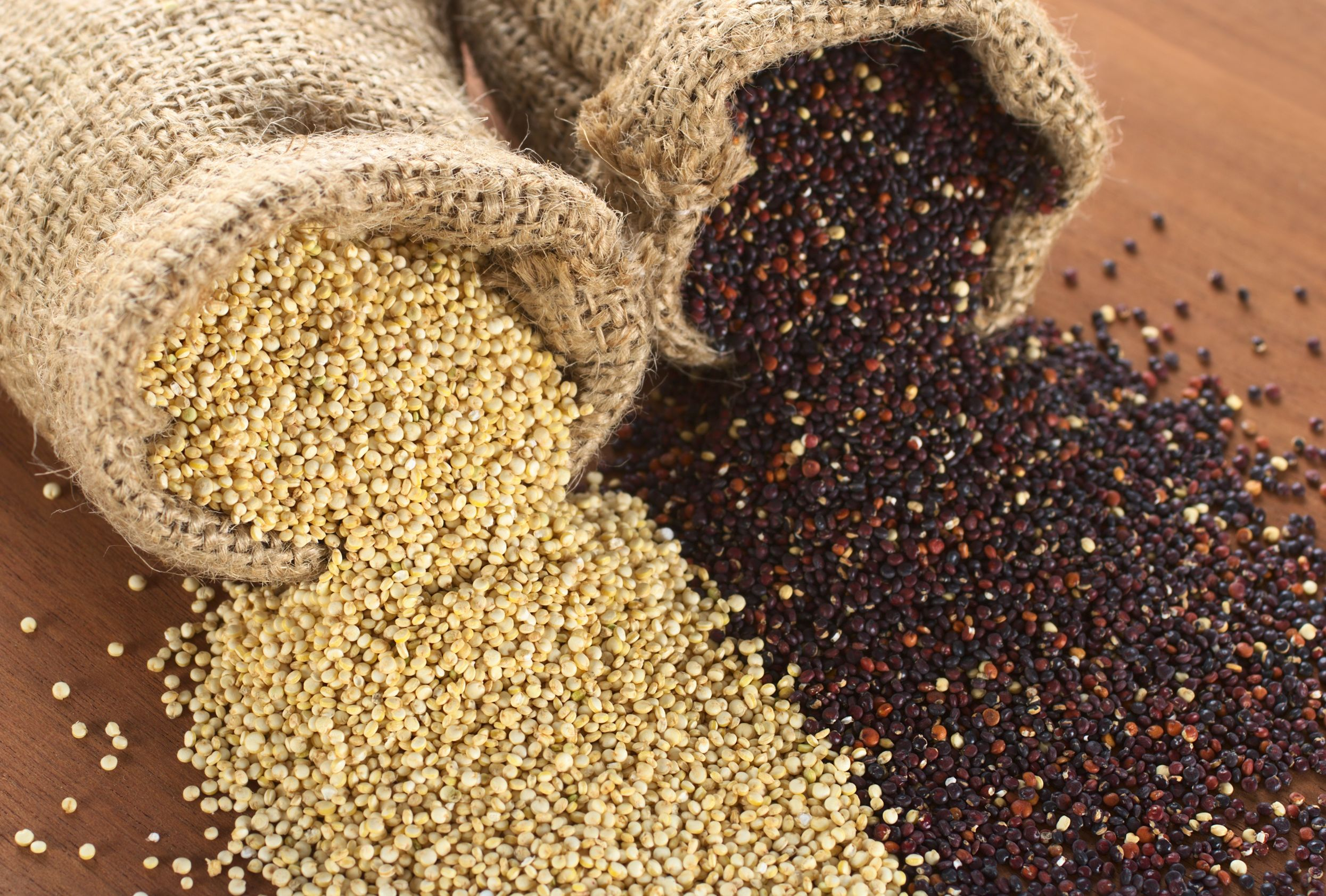 WholeDude - WholeDesigner - Phytochemistry: Quinoa seeds are Gluten-Free. It is also Cholesterol-free, low-fat, and high in protein. Throughout the ages many foods have been considered sexual stimulants. Quinoa has a special reason to be recognized as an Aphrodisiac, a chemical agent that can enhance sexual performance. Such a claim can be based upon the study of Polyamines found in its leaves and seeds.