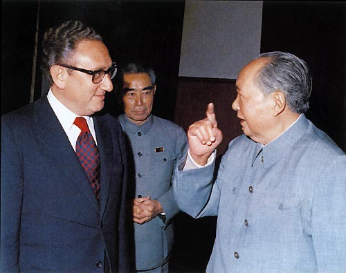 "WHOLEDUDE - WHOLEVILLAIN - ORIGINAL SIN: The mockery of the US Constitution. The US National Security Adviser, Dr. Kissinger had misused and abused his official position to meet foreign Heads of State to formulate US foreign relations without the participation of the US Secretary of State. I call this Villainous act as ""Original Sin"". Both Chairman Mao Tsetung, and Prime Minister Chou En-Lai were leaders of the ""Cultural Revolution"" during 1966-69 that participated in crimes against humanity."