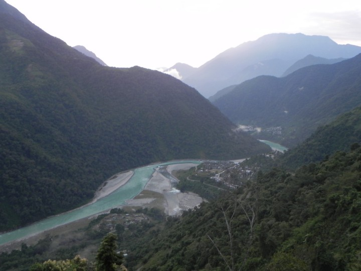 Special Frontier Force - Lohit River: A view taken at Hayuliang.