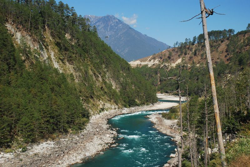 Special Frontier Force - Lohit River: Lohit River near Indo-Tibet Border