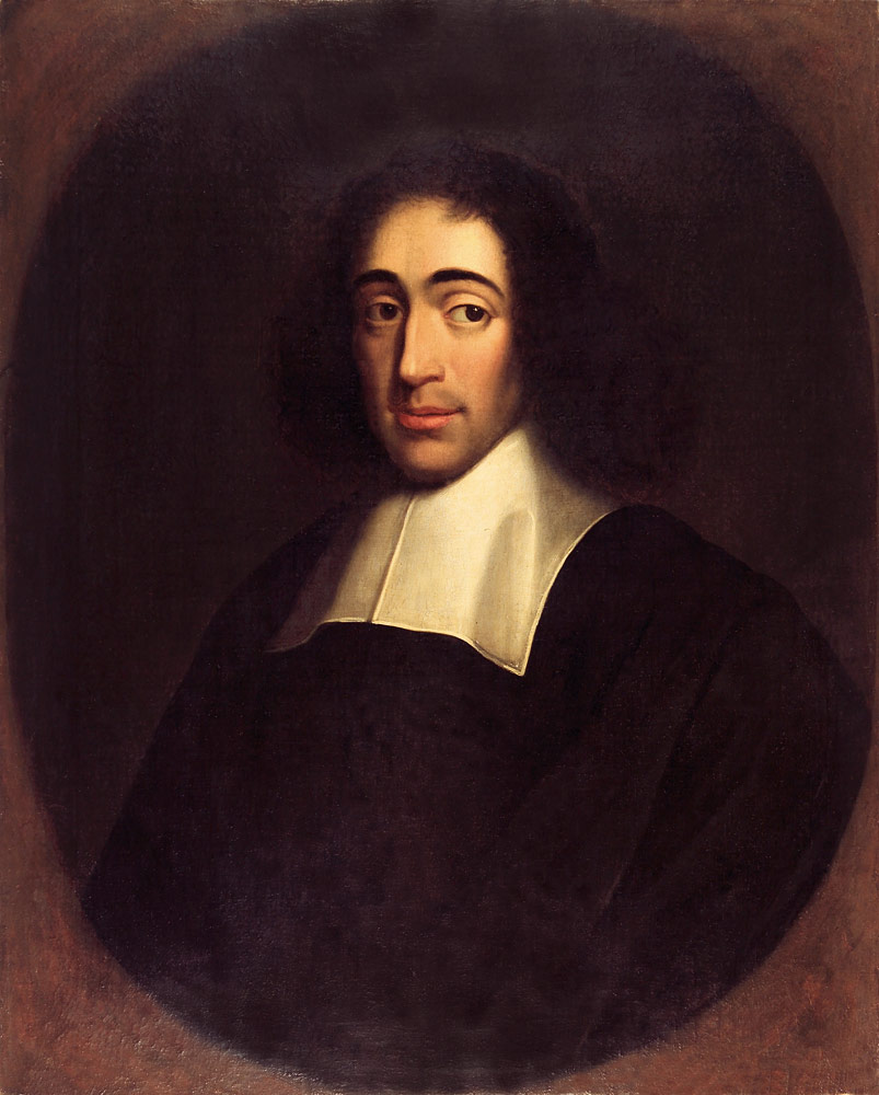 WholeDude - WholeDesigner - Matter and Spirit: Baruch(Benedict) Spinoza(1632-1677) Dutch philosopher taught that there is but one infinite substance called God or Nature having infinite attributes. He held that mind, and body as merely different aspects of a single substance. In his view, God is Nature in its fullness.