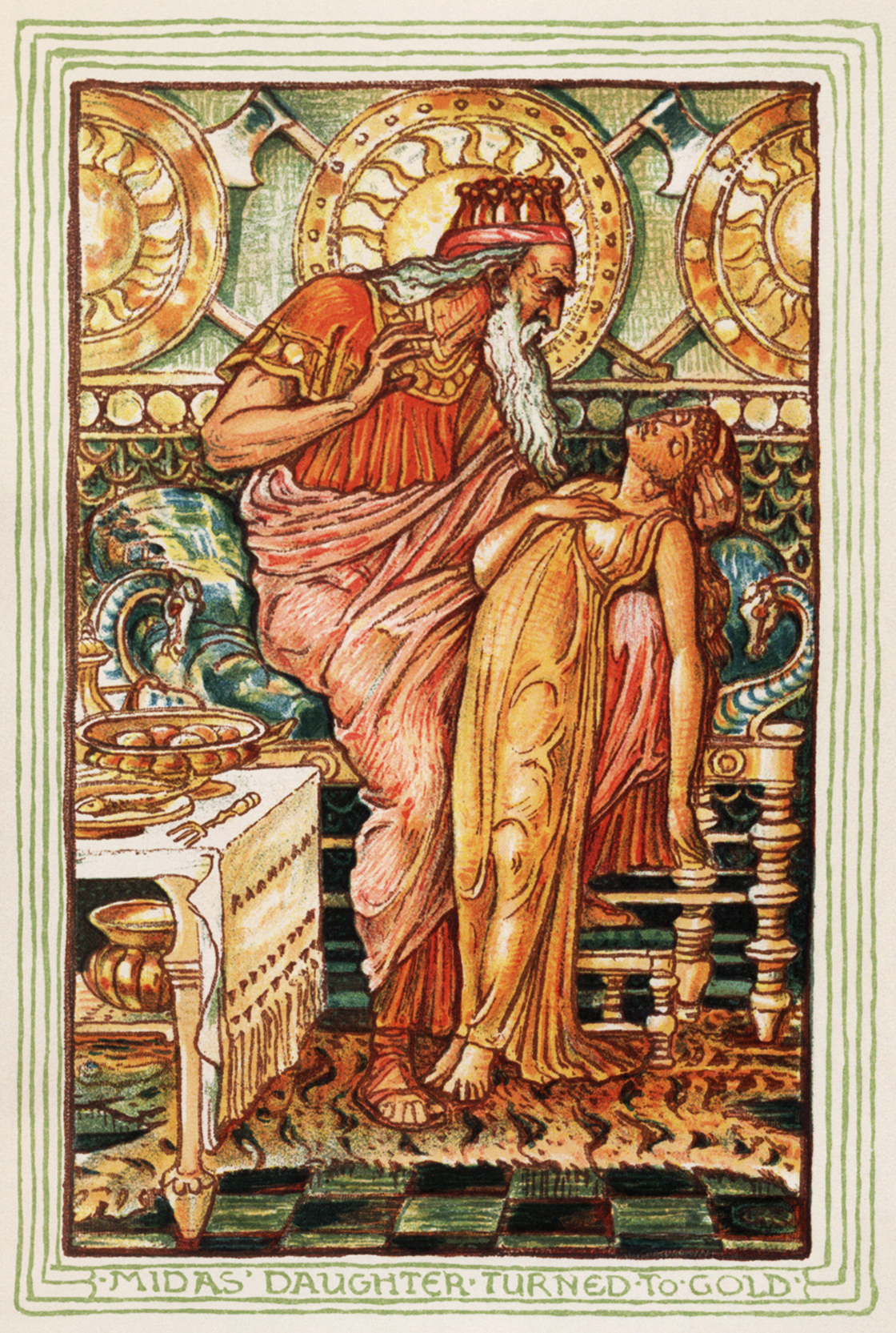 WholeDude - Whole Expose: In Greek Mythology, King Midas of Phrygia was granted the power of turning everything that he touches into gold. When even his food became gold, his daughter turned into gold, he washed away his power in the Pactolus River. This story reveals the relationship between Physical Matter and Spiritual Matter.