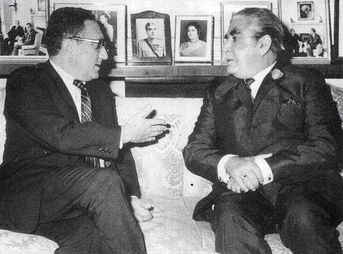 WholeDude - WholeVillain: Dr. Henry Kissinger is the Arch Villain in this story. Kissinger flew to China from Pakistan and had used Pakistan as a gateway to Communist China. Both of these Villains are responsible for the millions of people who died in the land called East Pakistan during 1971.