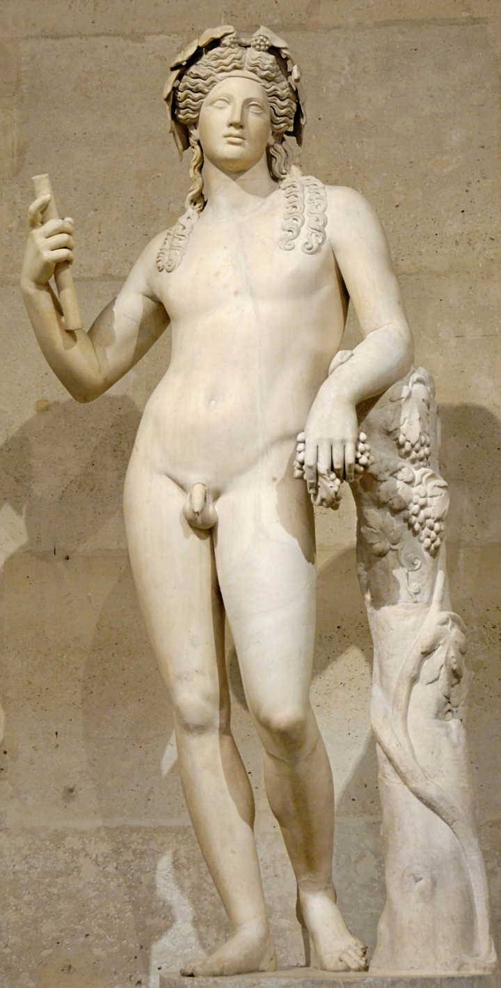 WholeDude - WholeDesigner - Whole Aesthetics: Greek god Dionysus is the god of fertility, and passion. He taught mankind viticulture. He is capable of dreadful revenge upon those who deny his divinity. According to Nietzsche, Dionysus represents reality as disordered and undifferentiated by forms. Dionysus is the god of Choral Music, self-forgetting, embraces chaos and frees the self to seek unity with others and gives way to a primal unity with Nature.