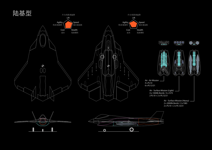 Special Frontier Force - China's Military Threat: Shenyang SAC J-16 Stealth Fighter Aircraft.