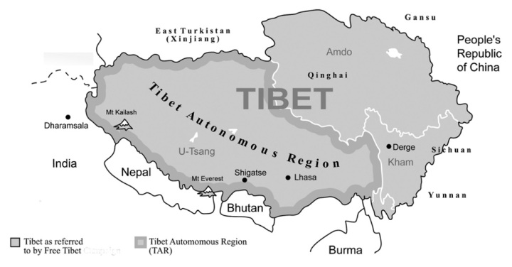 "SPECIAL FRONTIER FORCE - TIBETAN RESISTANCE: The Doctrine or the Philosophy of Tibetan Resistance involves the Art of Saying ""NO"" to the Enemy. The three original provinces of Tibet, U-Tsang, Kham, and Amdo constitute Tibetan territory and Tibetans reject the Tibetan Autonomous Region or TAR created by Communist China during 1965."
