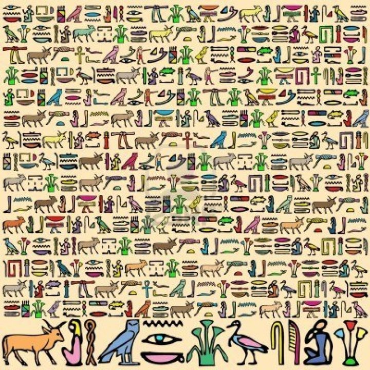 SPIRITUALITY SCIENCE - THE ORIGIN OF MAN - THE ORIGIN OF LANGUAGE: Egyptian Hieroglyphic(Greek=Priestly writing) type of writing were already perfected in the first dynasty 3110 - 2884 B.C.