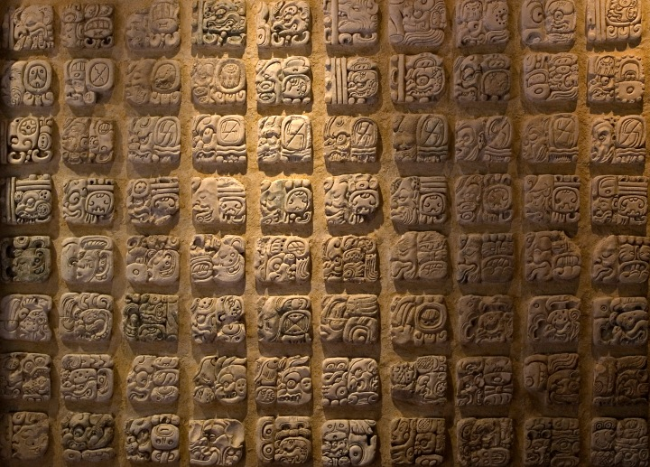 SPIRITUALITY SCIENCE - THE ORIGIN OF MAN - THE ORIGIN OF LANGUAGE: Maya tribes of Central America developed an original, ideographic system of writing with which they recorded chronology, astronomy, history, and religion.