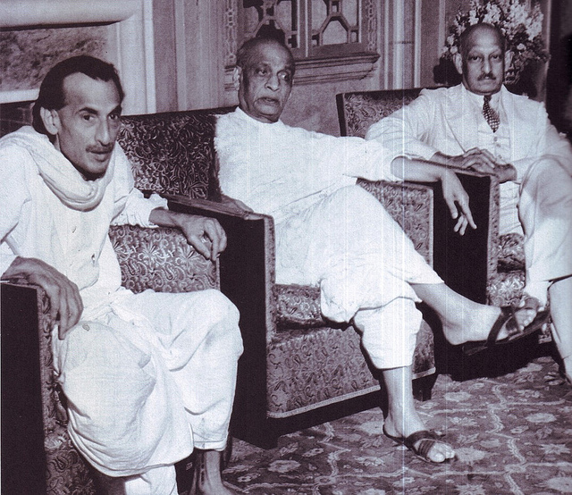 SPECIAL FRONTIER FORCE - PANCHSHEEL AGREEMENT: ACHARYA J B KRIPALANI, GANDHIAN THINKER, FREEDOM FIGHTER, SOCIAL WORKER, AND EMINENT INTELLECTUAL OF INDIA IS SEEN IN THIS PHOTO(LEFT) ALONG WITH SARDAR PATEL(MIDDLE) AND SIR SEN(RIGHT). ACCORDING TO ACHARYA KRIPALANI THE PANCHSHEEL AGREEMENT IS BORN IN SIN. I MET THIS NATIONALIST LEADER DURING JUNE 1967 IN NEW DELHI.