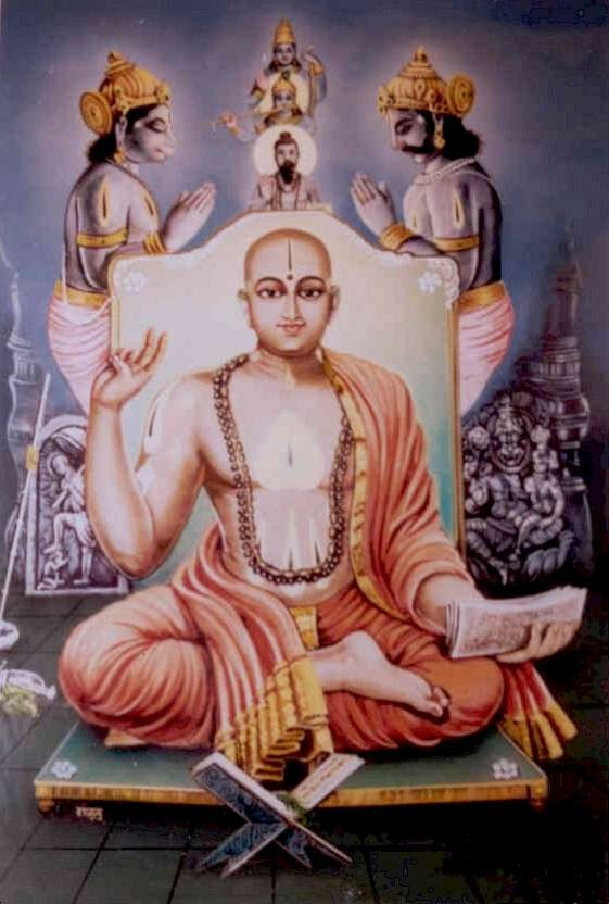 SPIRITUALITY SCIENCE - MAN IS A SPIRITUAL BEING: THE INDIAN SCHOOL OF THOUGHT CALLED 'DVAITA' OR DUALISM WAS FOUNDED BY MADHVACHARYA. HE MADE THE FUNDAMENTAL DISTINCTION BETWEEN THE HUMAN SOUL AND THE DIVINE SOUL. THE PHYSICAL REALITY OF HUMAN EXISTENCE CAN BE EXPLAINED AS THE UNITY BETWEEN THE HUMAN AND THE DIVINE SOUL WHILE THEY ARE NOT IDENTICAL OR ONE AND THE SAME.