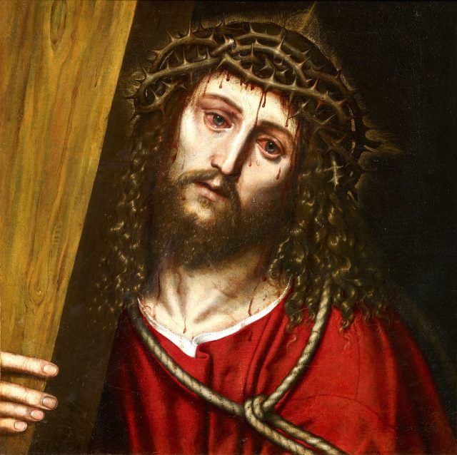 "SLAVERY REBORN - LABOR DAY HOLIDAY TRADITION: ""ECCE HOMO."" LATIN. ""BEHOLD THE MAN(JOHN 19:5)."" BEHOLD THE SENIOR ALIEN. JUST LIKE JESUS CHRIST WHO RESURRECTED AFTER HIS CRUCIFIXION, SLAVERY IN THE UNITED STATES HAS RESURRECTED UNDER THE PATRONAGE OF THE US DEPARTMENT OF SOCIAL SECURITY."